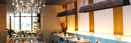 Lighting to reflect Patara's Thai fine dining experience