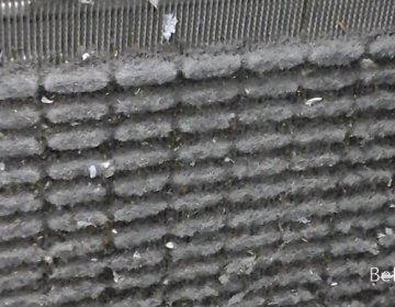 blocked air con filter