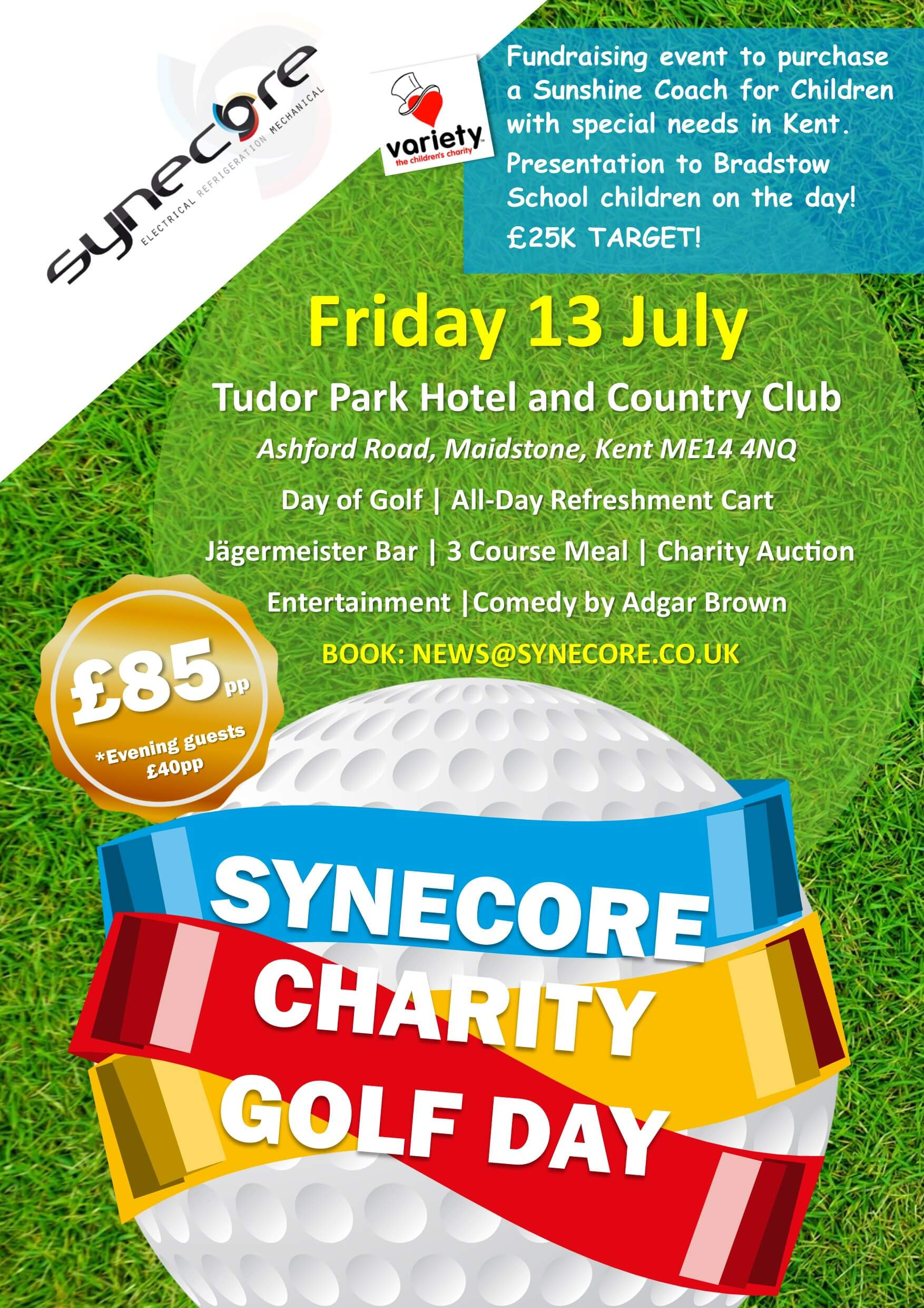 synecore charity golf day 2018