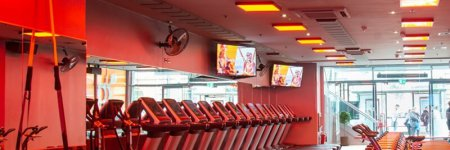 Gym air conditioning and ventilation