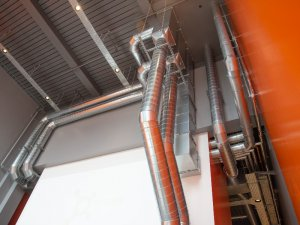 Exposed pipework contractor London