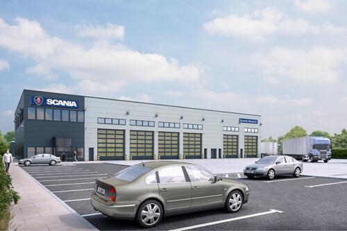 Scania Gatwick M&E Contractor Sussex