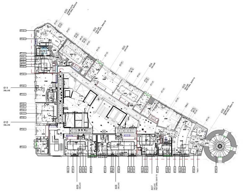 Electrical Design Drawing Hotel