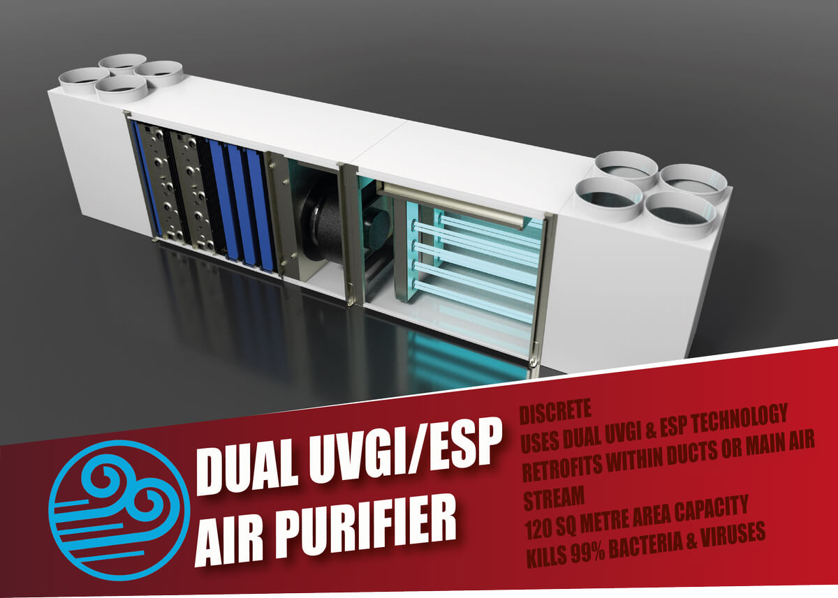 DUAL UVGI Air Purifier
