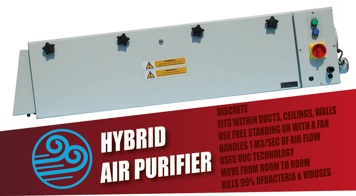 Hybrid UVC Air Purifier